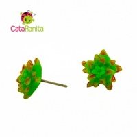 Succulents Earrings 3